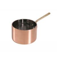 Stielkasserolle, tief, aus Kupfer, 8,5cm Durchmesser