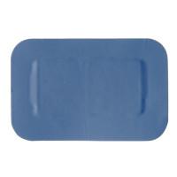 Sans Marque Pflaster 4x4 cm, blau - 50 Stück