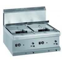Gas-Fritteuse Dexion Serie 77 - 70/70 9+9 Liter - Tischgerät