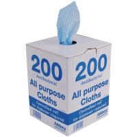 Jantex antibakterielles Mehrzwecktücher blau