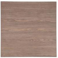 GR323-Bolero quadratische Tischplatte Vintage Holz 60cm