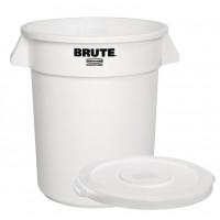 Vorratscontainer Rubbermaid 38 Liter weiß inklusive Deckel