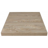 GR325- Bolero quadratische Tischplatte Antik naturell 60cm