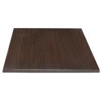 Tischplatte BOLERO 70x70cm dunkelbraun