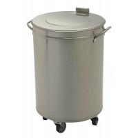 Rollbarer Abfalleimer 50 Liter