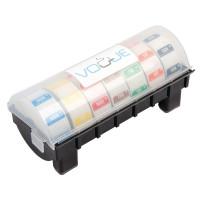 Kunststoffspender mit Wochenset entfernbare Etiketten | Lager & Transport/Lebensmittelaufbewahrung/Zubehör