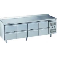Kühltisch ECO 0/8 mit Aufkantung - GN 1/1 | Kühltechnik/Kühltische/Gastro-Kühltische/Gastro-Kühltische 700