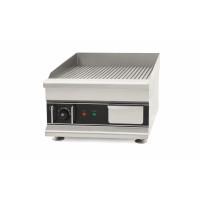 Elektro-Grillplatte Eco 410x425 gerillt - Tischgerät