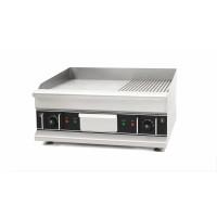Elektro-Grillplatte Eco 596x398 ½ glatt, ½ gerillt - Tischgerät