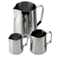 Milch-/Wasserkrug Edelstahl 1,5 l