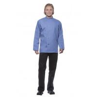 Herrenkochjacke Lars, graublau, Größe: 66