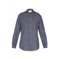 Herrenkochhemd Jeans 1892 California, vintage black, Größe: 64