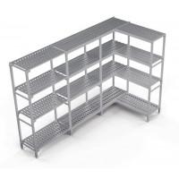 Kühlzellenregal Profi Kit 4, 1590/650 x 400 x 1670 mm, 4 Böden | Kühltechnik/Kühlzellen & Aggregate/Regale
