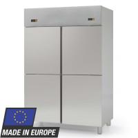 Kühlschrank Profi 1400 GN 2/1 - mit 2 Aggregaten und 4 Halbtüren