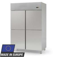 Fischkühlschrank Profi 1400 EN 600 x 400 - mit 4 Halbtüren