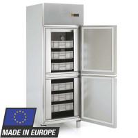 Fischkühlschrank Profi 700 EN 600 x 400 - mit 2 Halbtüren | Kühltechnik/Kühlschränke/Fischkühlschränke