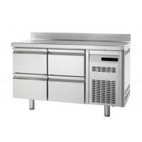 Kühltisch Premium 0/4 mit Aufkantung - EN 600x400