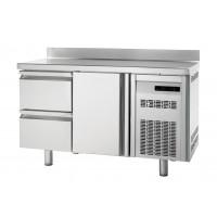 Kühltisch Premium 1/2 mit Aufkantung - EN 600x400