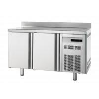 Kühltisch Premium 2/0 mit Aufkantung - EN 600x400