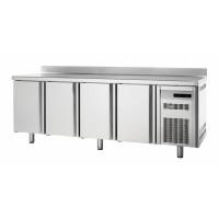 Kühltisch Premium 4/0 mit Aufkantung - EN 600 x 400