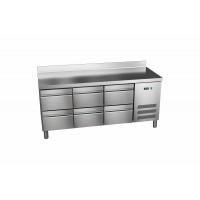 Kühltisch ProLine 600 0/6 mit Aufkantung