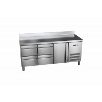 Kühltisch ProLine 600 1/4 mit Aufkantung