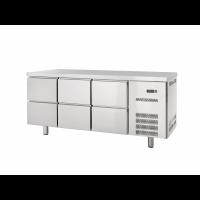 Kühltisch Profi 600 0/6 | Kühltechnik/Kühltische/Gastro-Kühltische/Gastro-Kühltische 600