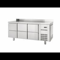 Kühltisch Profi 600 0/6 mit Aufkantung - GN1/1