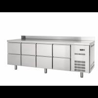 Kühltisch Profi 600 0/8 mit Aufkantung - GN1/1