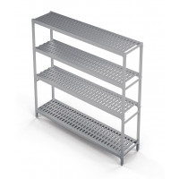 Standregal Profi 1590 x 400 x 1670 mm, 4 Böden | Kühltechnik/Kühlzellen & Aggregate/Regale