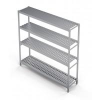 Standregal Profi 2825 x 400 x 1670 mm, 4 Böden | Kühltechnik/Kühlzellen & Aggregate/Regale
