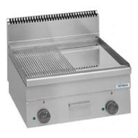 Gas-Grillplatte Dexion Serie 66 - 60/60 1/2 glatt, 1/2 gerillt Tischgerät | Kochtechnik/Grillplatten/Gas-Grillplatten