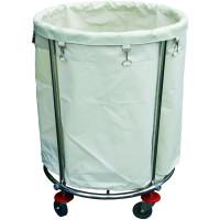 Wäschesammelwagen mit großem Wäschesack, Höhe 83cm