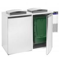 Abfallkühler ECO 2x240 Liter | Kühltechnik/Abfall- & Konfiskatkühler