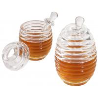 Honigtopf mit Dosierstab und Deckel, 0,2 Lt., Durchmesser max. 9cm