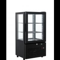 Kühlvitrine ECO 58 Liter schwarz