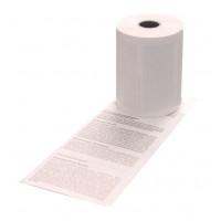 Thermorolle EC-Cash, 57x12 mm, Länge: 10 m, 0/1 Lastschrifttext, 50 Stück