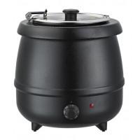 Suppentopf Eco 10 Liter, schwarz