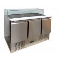 Saladette ECO 1300 mit 3 Türen | Kühltechnik/Saladetten
