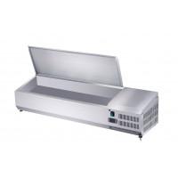 Edelstahl-Kühlaufsatz ECO 5 x GN 1/4