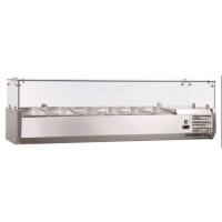 Kühlaufsatz ECO 6 x GN 1/4 mit Glasaufsatz