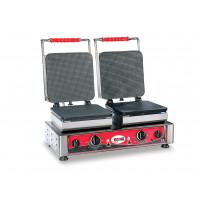 Waffeleisen Gelato 23x23 - doppelt, wechselbare Backplatten | Kochtechnik/Saisongeräte/Waffeleisen