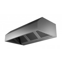 Wandhaube ECO in Kastenform 200x90