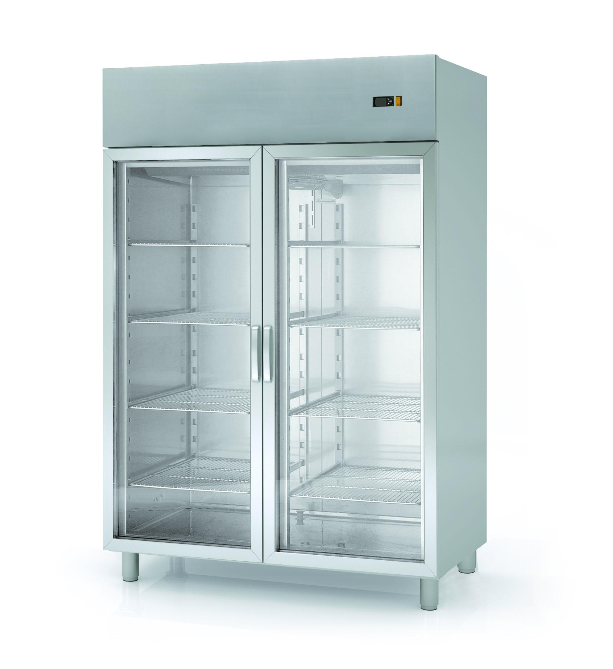 Kühlschrank Profi 1400 GN 2/1 - mit 2 Glastüren Online-Shop GASTRO ...